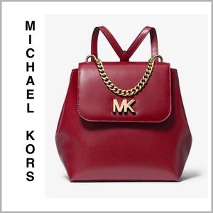 MK Small Leather Backpack ✨